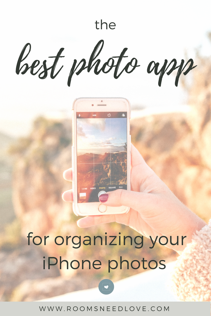 The Best Photo App for Organizing Your iPhone Photos | Digital Photos | Google Photos | how to organize digital photos | apps | Rooms Need Love