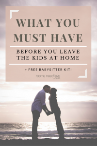 Are you prepared to leave your kids with a babysitter at a moment's notice? Download your free babysitter kit and have peace of mind!