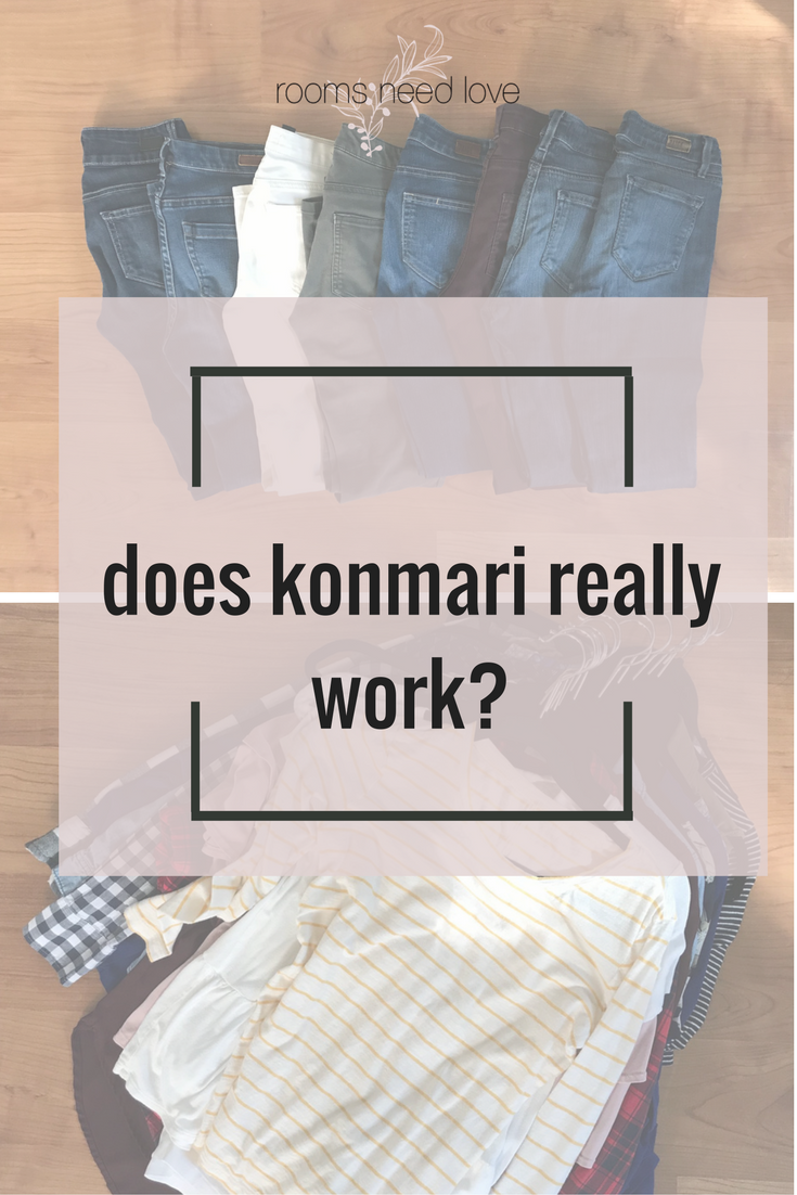 Does KonMari Really Work? Wardrobe Edition | Rooms Need Love