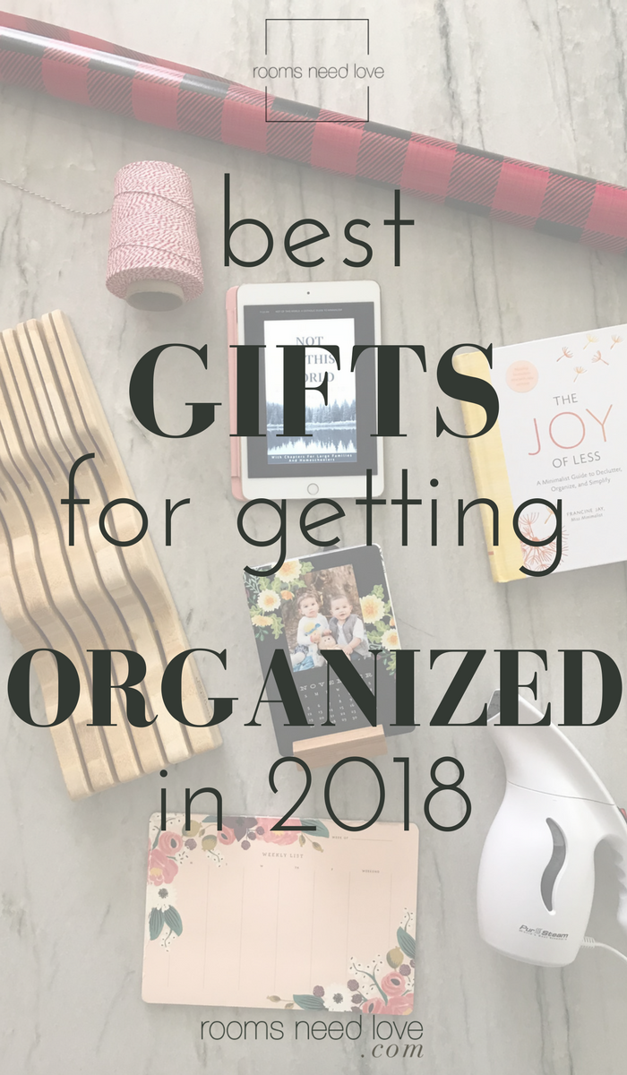 Best Gifts for Getting Organized in 2018 | Holiday Gift Guide | Organization | Home organizing | gifts for moms | Christmas | Rooms Need Love