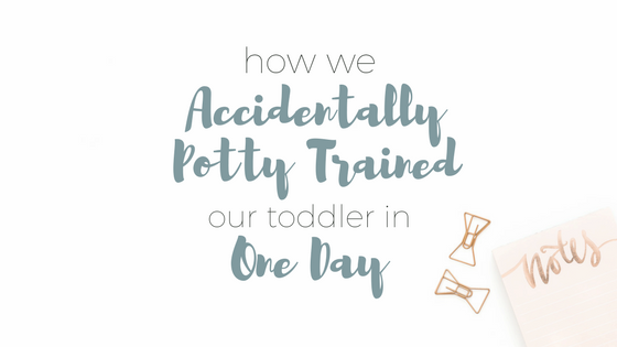 How We Accidentally Potty Trained Our Toddler in One Day | Potty Training | Toddlers | Parenting | Rooms Need Love