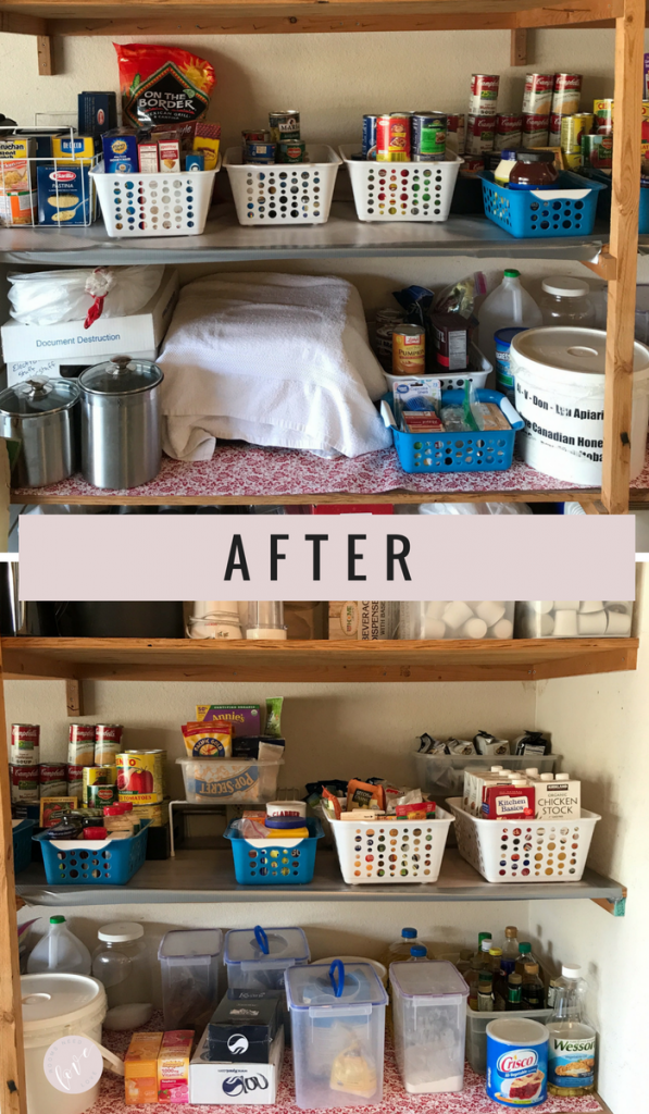 Give Your Pantry a Makeover for the Holidays: After | Organizing Tips | Pantry Organizing | Organizing on a Budget | Rooms Need Love