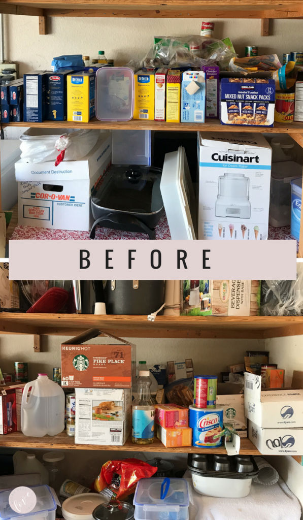 Give Your Pantry a Makeover for the Holidays: Before | Organizing Tips | Pantry Organizing | Organizing on a Budget | Rooms Need Love