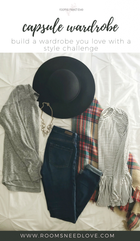 Build a Capsule Wardrobe Using a Style Challenge | Putting Me Together Style Challenge | Rooms Need Love