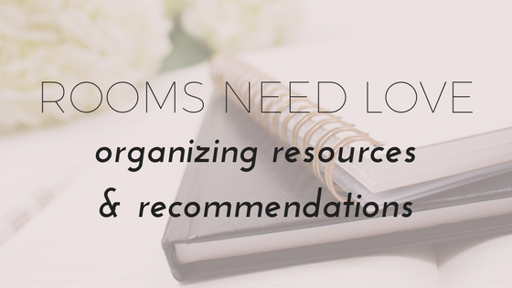 organizing resources | organizing tools | minimalism | recommended books