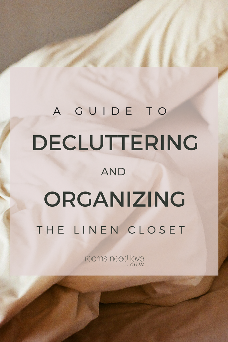 A Guide To Decluttering And Organizing The Linen Closet | Linen Cabinet | Linen  Closet |