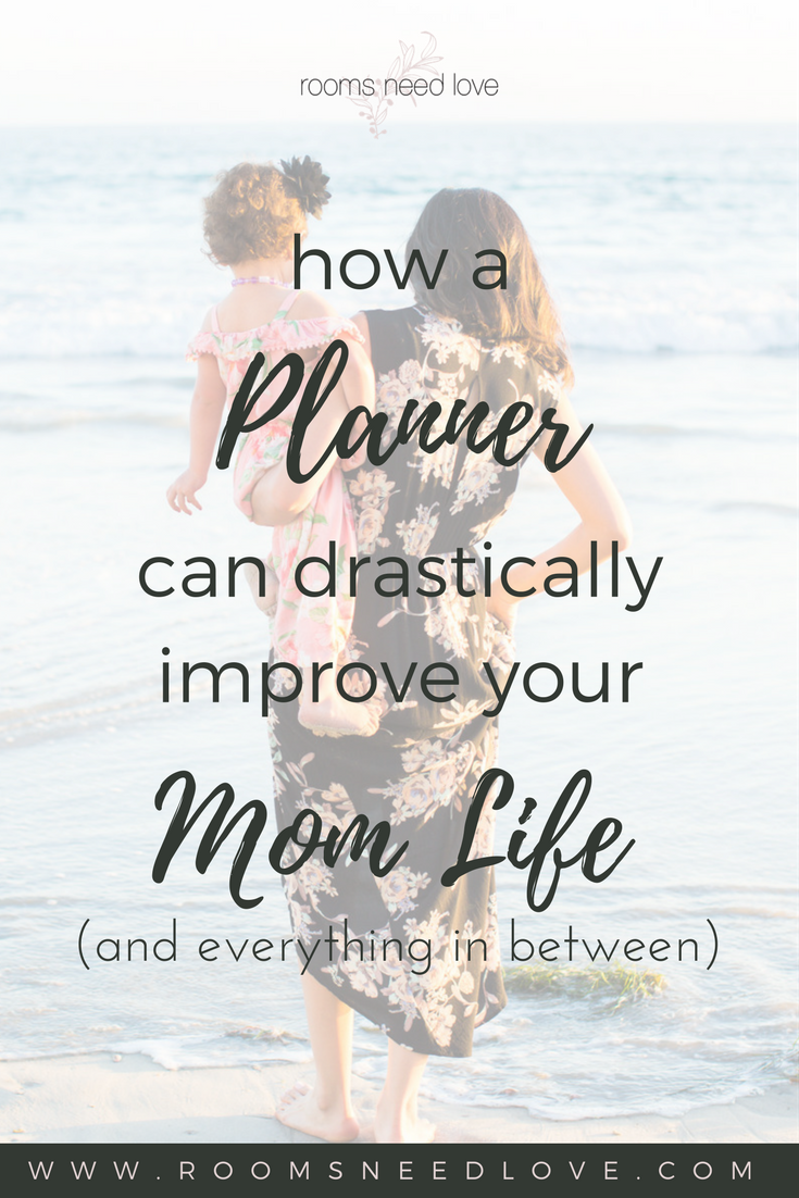 How a Planner Can Drastically Improve Your Mom Life | Planners | Organized Mom