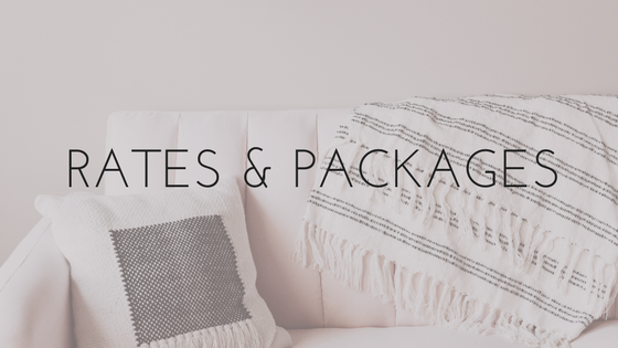 Rooms Need Love Rates & Packages