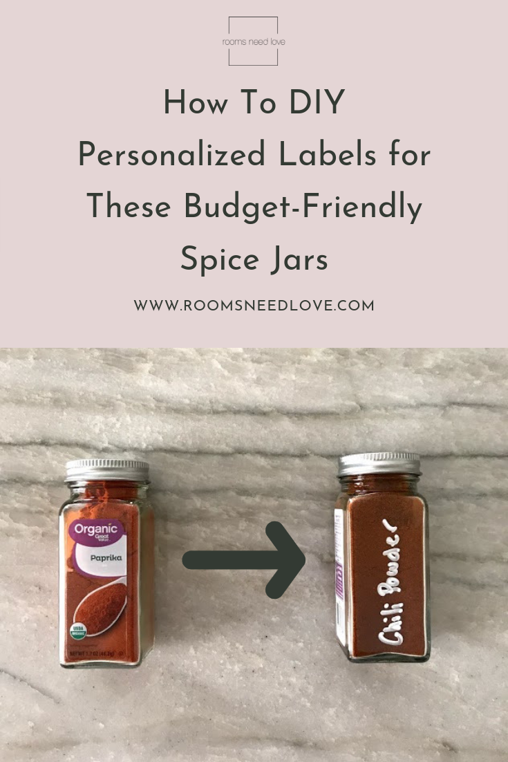 How To Diy Personalized Labels For These Budget Friendly